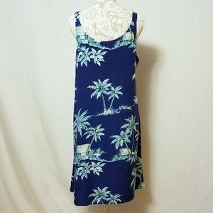 Bishop Street Apparel Dresses - Vintage Bishop Street Apparel Hawaiian Print Dress